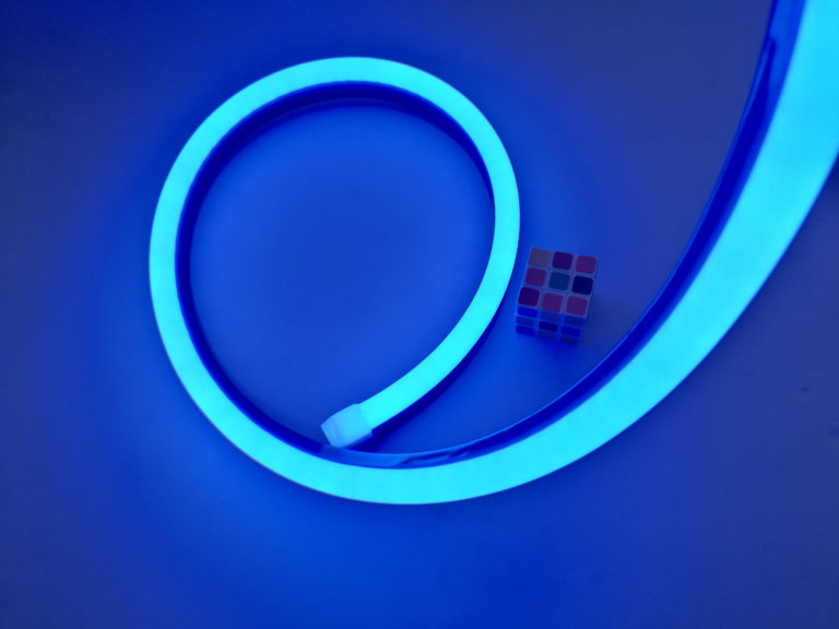 LED SILICONE NEON FLEX BLUE