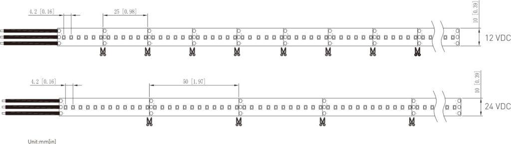 SMD2016 LED CCT ADJUSTABLE TAPE LIGHT Series