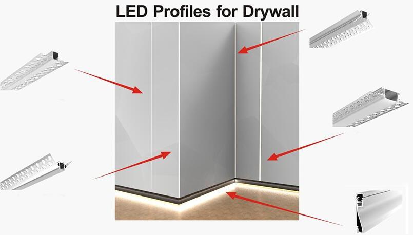 Aluminum-LED-profile-trimness-recessed-drywall