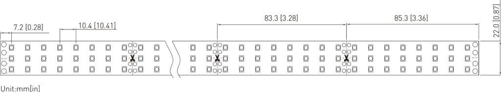 SMD2835 288PCS LEDs Tape Light High Efficacy