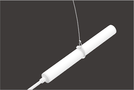 Pendant Kit - steel cable and hook