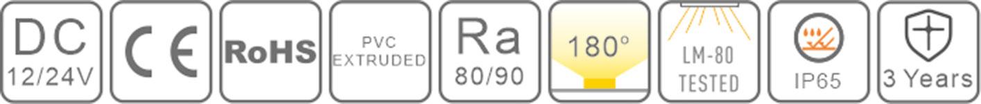 0818 led silicone neon flex-certification