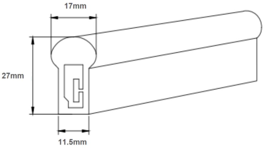 111.5*27 led silicone neon flex-SIZE