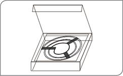 round neon flex packaging